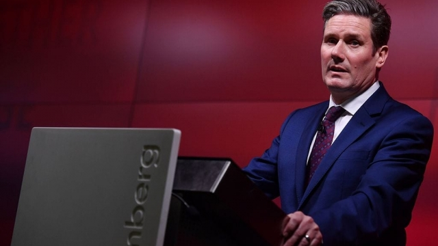 Sir Keir Starmer warned there is 'no prospect' of a Labour election victory without a change of direction (BEN STANSALL/AFP/Getty Images)