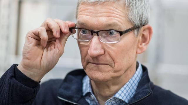 Apple CEO Tim Cook (Photo credit: BERND THISSEN/AFP/Getty Images)