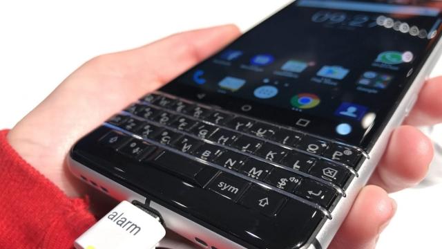 (Photo: Rhiannon Williams) BlackBerry is back - sort of
