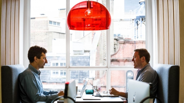 Workers at Employment Engagement firm Reward Gateway are completely free to choose when and where they work (Photo: Reward Gateway)