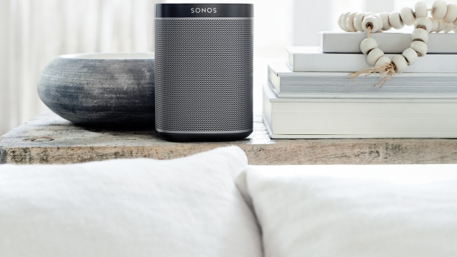 (Photo: PA) Sonos' Play 1 speaker. The audio firm has revealed it is raising prices in the UK by up to 25 per cent in the wake of the Brexit vote and fall in value of the pound