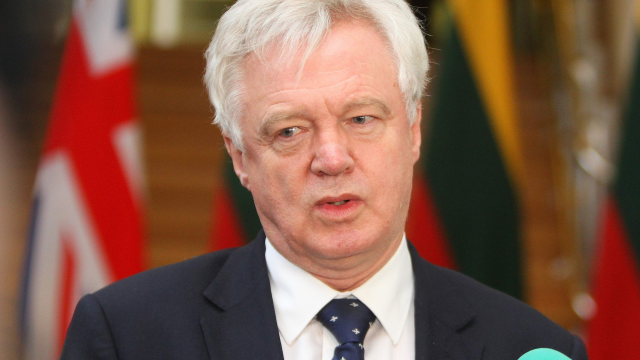 """David Davis has told ministers to prepare for """"unlikely scenario"""" (AFP/Getty)"""