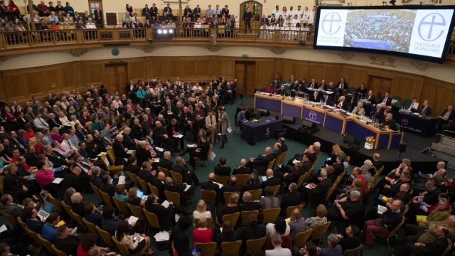 The General Synod at Church House in London debated the report on Wednesday