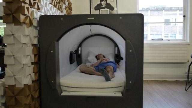 London technology firm Potato have a sleep pod where employees can take a nap (Photo: Potato London)