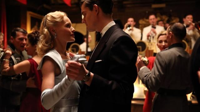 Archer (Sam Riley) and Barbara Barga (Kate Bosworth) in SS-GB