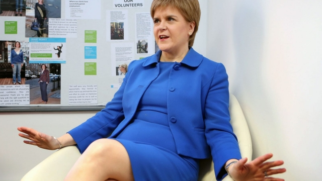 Nicola Sturgeon said no final decision had been made on whether to hold another referendum (Photo: PA)