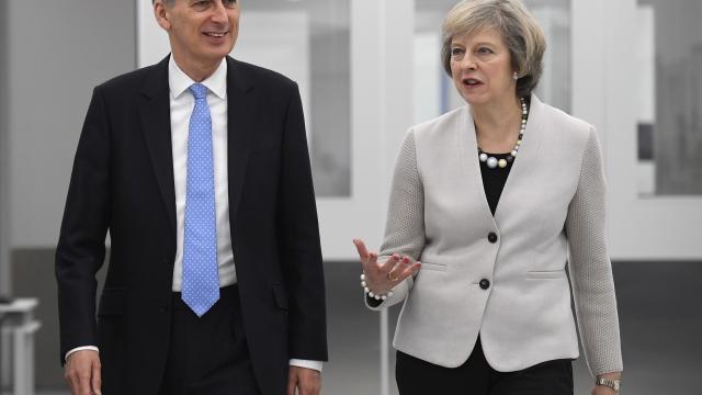 Fresh strains have emerged between Philip Hammond and Theresa May (Photo: PA)