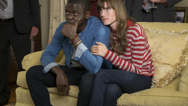 Daniel Kaluuya and Allison Williams in 'Get Out'. Photo: Universal Pictures