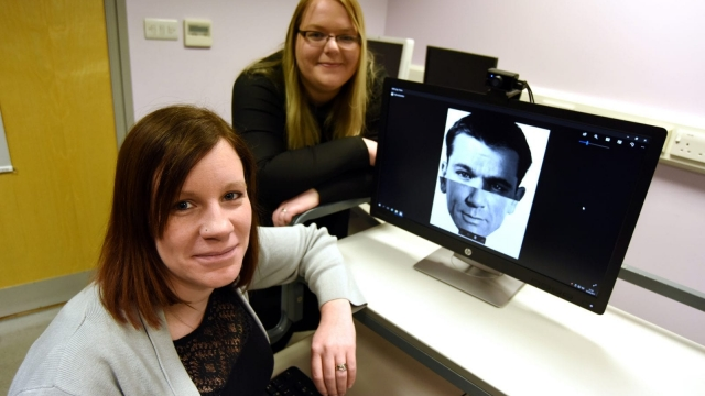 Laura Sexton, right, and Natalie Butcher have set up one of the north east's first screening centres to test people for 'face blindness'.