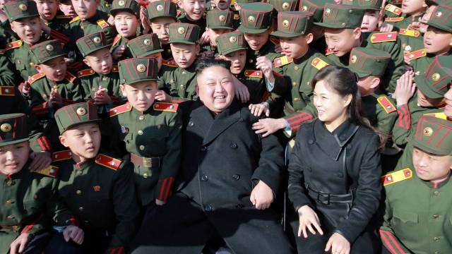 Kim Jong-un will not negotiate unless there is a direct threat to his survival - and that poses its own issues (Photo: Getty)