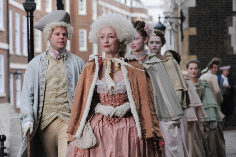 Harlots is set in the world of 18th century prostitutes (Photo: Monumental Television)