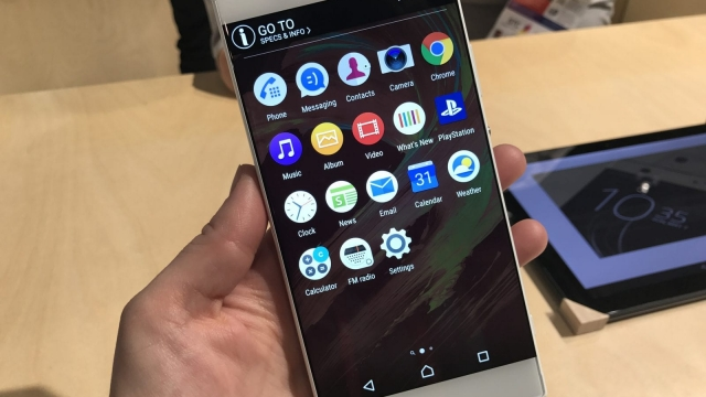 (Photo: Rhiannon Williams) Sony's smartphone design has always been extremely angular