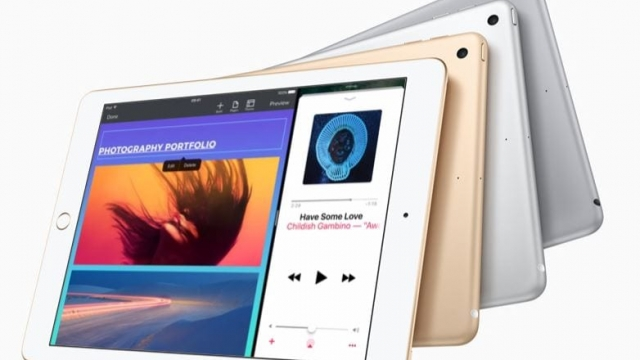 The new 9.7-inch iPad replaces the iPad Air 2
