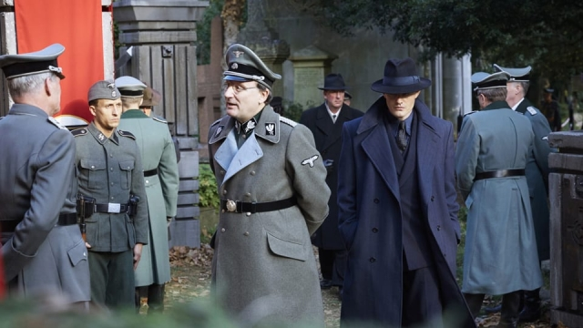 The Nazi top brass assemble in Highgate Cemetery