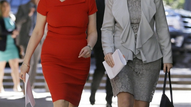 Nicola Sturgeon is in California alongside a delegation including Lena Wilson, the CEO of Scottish Enterprise (Photo: PA)