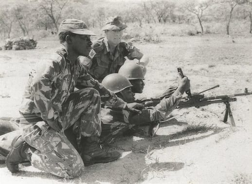 Britain deployed a sizable military team to Zimbabwe as part of a deal to train armed forces for the newly-independent country. (Photo: St Andrews University)