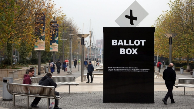 Article thumbnail: Voters in six city regions will elect metro mayors in May. (Photo by Matt Cardy/Getty Images)