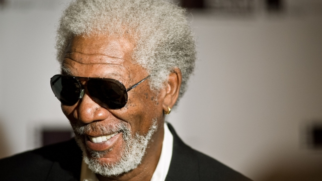 Morgan Freeman: 'When I was young I couldn't get arrested' Photo: Timothy Hiatt/Getty