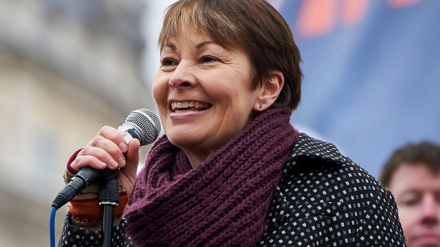 Caroline Lucas is the Green Party's co-leader and sole member of parliament (Photo: Getty)