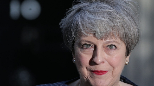 Theresa May needs the votes of 2/3 of MPs in order to hold an election in June. (Photo: DANIEL LEAL-OLIVAS/AFP/Getty Images)