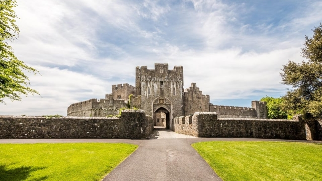 Gilded towers: St Donats Castle Wales Pic: Matthew