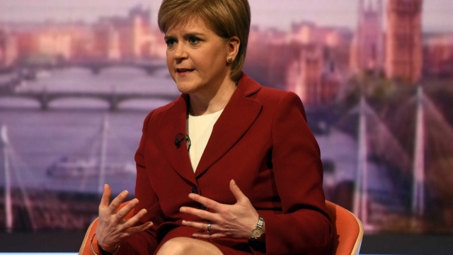 Nicola Sturgeon said she accepted that Scotland had to 'do better' in teaching literacy and numeracy (Photo: PA)