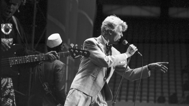 Bowie played many times in Edinburgh, including a concert at Murrayfield in 1983