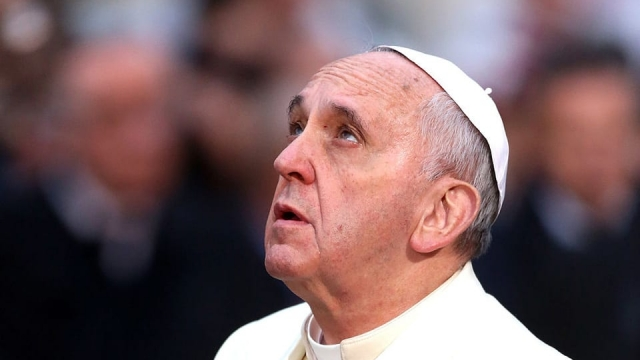 """Good heavens: Pope Francis allegedly told an Italian journalist: """"Hell doesn't exist"""" (Photo: Getty Images)"""