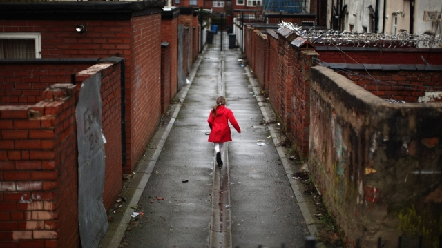 Nearly 400,000 more children and 300,000 more pensioners are now living in relative poverty than four years ago (Photo: Getty)