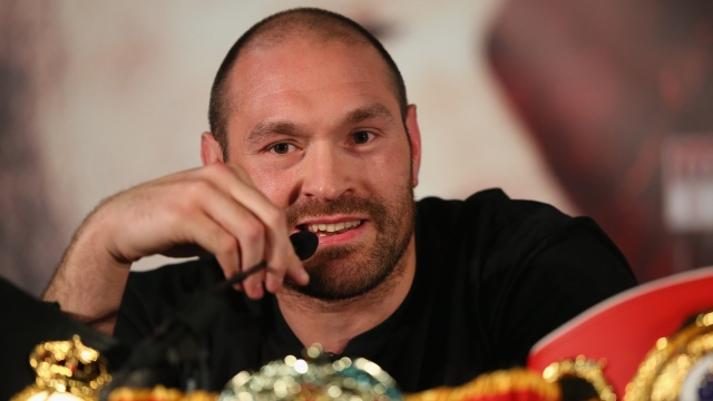 Tyson Fury thinks this is about boxing. It is not