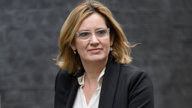 Amber Rudd says the Government has invested billions in cyber security (Picture: Getty Images)