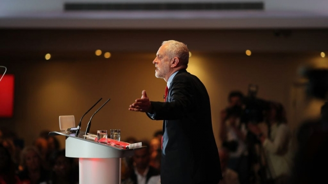 Jeremy Corbyn denounced cuts to policing (Photo: Getty)