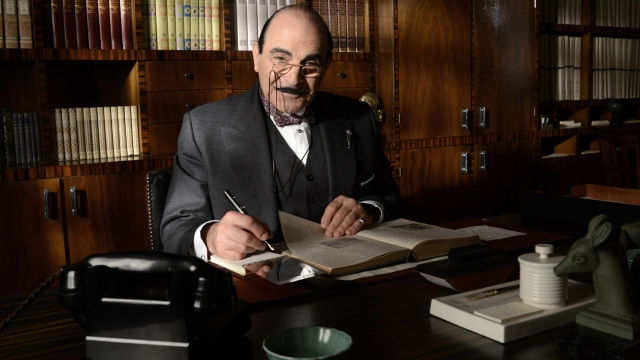 David Suchet as Agatha Christie's Hercule Poirot. Photo: PA Photo/Patrick Redmond/ITV