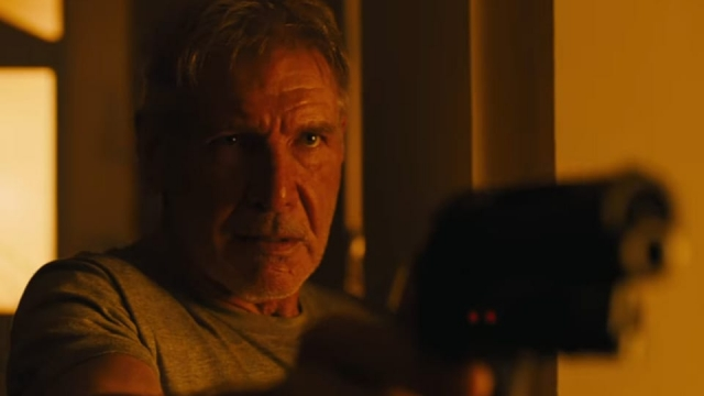 Harrison Ford reprises his role in Blade Runner 2049