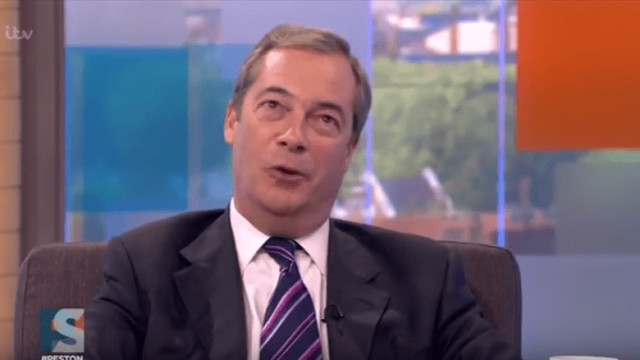 Nigel Farage: unlikely convert to the cause of a second referendum (Getty)