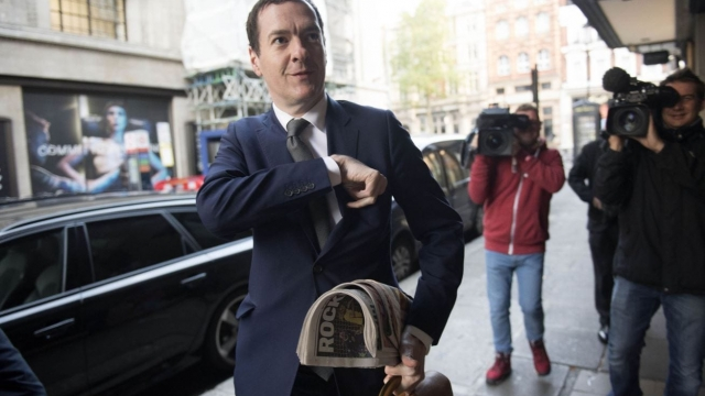 George Osborne became editor of the London Evening Standard last year. (Photo: Victoria Jones/PA)