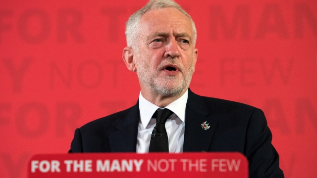 Opponents condemned the timing of Jeremy Corbyn's speech on British foreign policy (Picture: PA Wire)