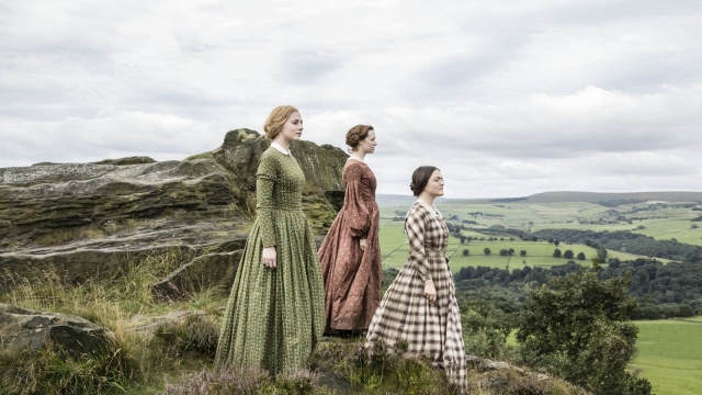 Looking outwards: Charlotte Bronte left Yorkshire for Brussels with her best friend, Mary Taylor
