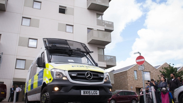 Twelve people have been arrested in east London and searches are underway at a number of addresses. Photo: PA wire