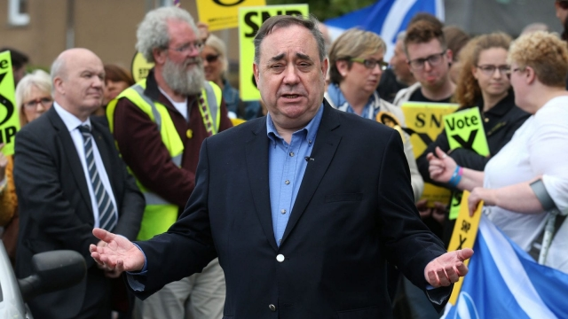 Former SNP leader Alex Salmond lost his Gordon seat to the Tories (Photo: PA)