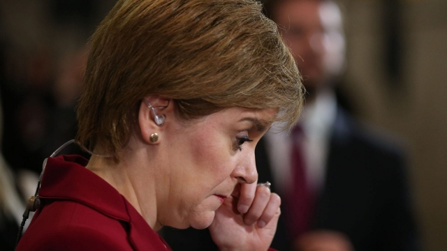 SNP leader Nicola Sturgeon has been calling for a second independence referendum (Photo: PA)