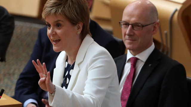 Nicola Sturgeon criticised the Audit Scotland report during First Minister's Questions (Photo: PA)