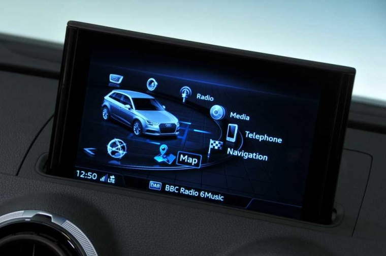 Audi A3 Sportback infotainment