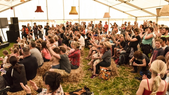 Rapt attention: Also Festival
