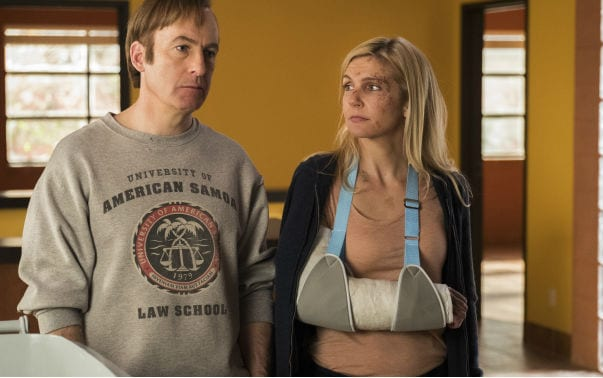 Jimmy and Kim in the finale of Better Call Saul's fourth season