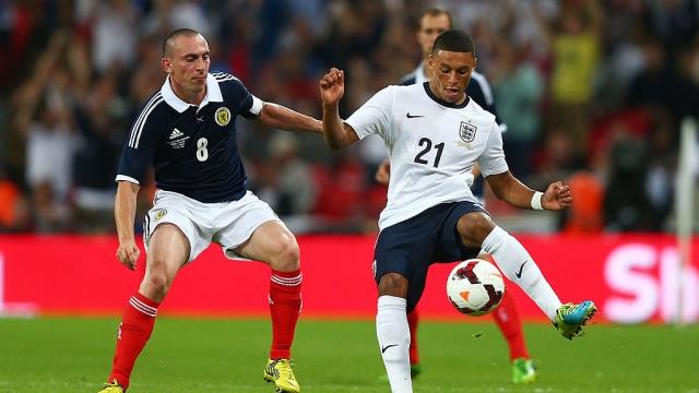 England v Scotland in 2013