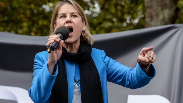 Gone. Dr Tania Mathias lost her seat to Twickenham seat to former Lib Dem cabinet minister Vince Cable (Picture: Getty Images)