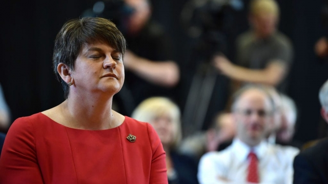 DUP leader Arlene Foster called her party's election result 'a good night for the Union'.