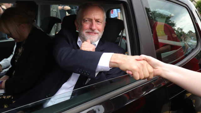Jeremy Corbyn has drawn big crowds on the campaign trail (Picture: Getty Images)