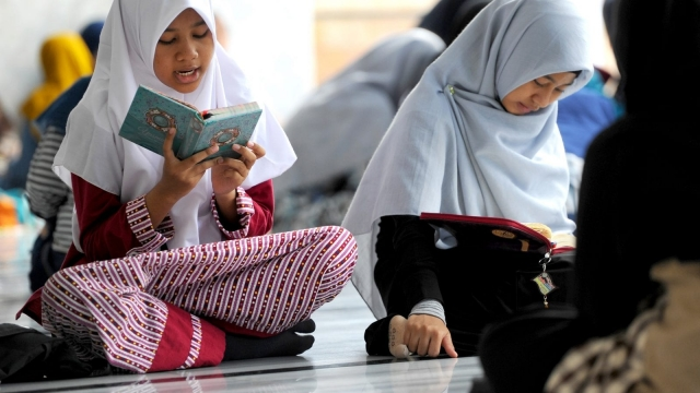 Muslim girls as young as seven have been the targets of hate crimes. Photo: Getty